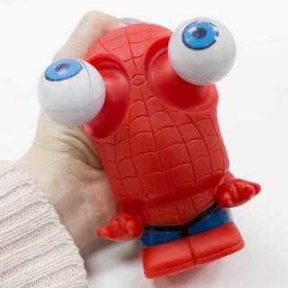 Антистресс-игрушка с вываливающимися глазами Человек-паук Popeyes купить