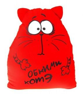 Игрушка - подушка антистресс «Обними котэ» купить Минск
