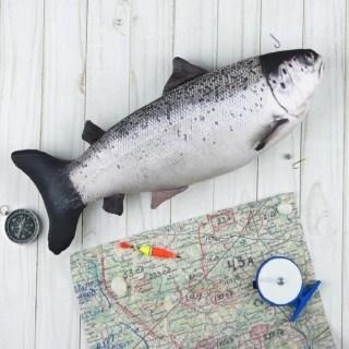 Игрушка-рыба антистресс «Лосось» купить в Минске +375447651009