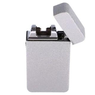 Импульсная-зажигалка USB «Honglu» металлик Минск +375447651009