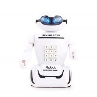 Копилка с купюроприемником и лампой «Робот» купить в Минске +375447651009