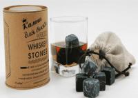 Камни для виски 12 штук со стаканом в тубусе купить Минск