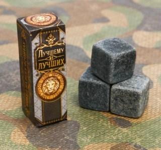 Камни для виски «Лучшему из лучших» 3 шт. купить в Минске +375447651009