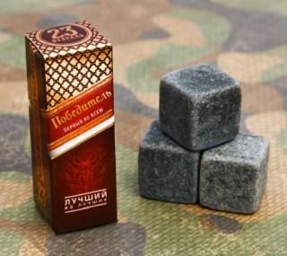 Камни для виски «Победитель» 3 шт купить в Минске +375447651009