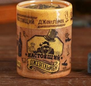 Камни для виски в тубусе «Джентльмен» 4 шт. купить в Минске +375447651009