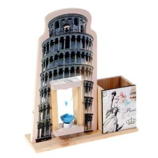 Карандашница с песочными часами «Достопримечательности» купить в Минске +375447651009