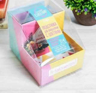 Карандашница с растущей травой «Мечтай!» купить в Минске +375447651009
