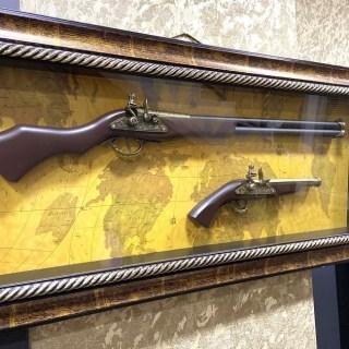 Картина с оружием «Коллекция оружия на карте мира» вид 3 купить в Минске +375447651009
