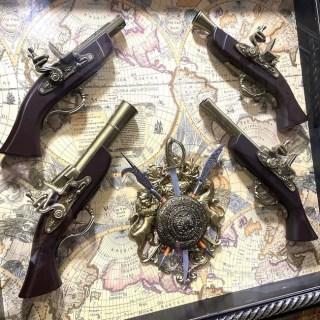 Картина с сувенирным оружием на карте мира «ВИД 1» купить в Минске +375447651009