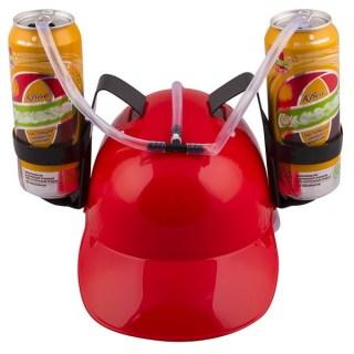 Каска для пива «Не дай себе засохнуть» красная Минск +375447651009