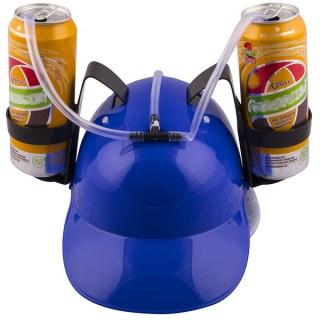 Каска для пива «Не дай себе засохнуть» синяя Минск +375447651009