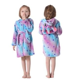Халат- кигуруми «Единорог с фиолетовыми звездочками» детский купить Минск +375447651009