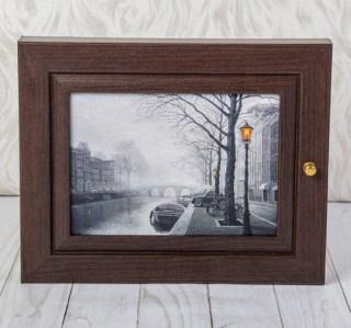 Ключница деревянная «Амстердам» купить в Минске +375447651009