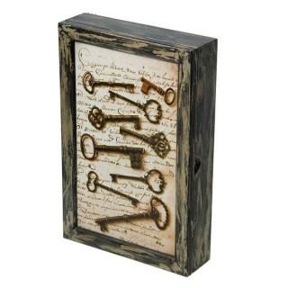 Ключница деревянная «Коллекция ключей» 5 крючков купить в Минске +375447651009
