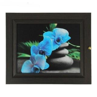 Ключница деревянная «Орхидея» 7 крючков купить в Минске +375447651009