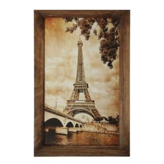 Ключница деревянная «Осень в Париже» купить в Минске +375447651009