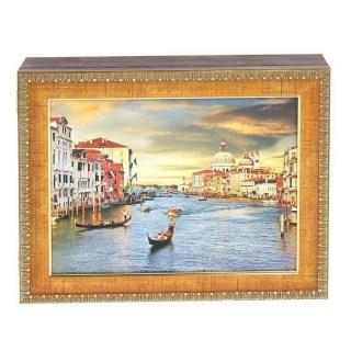 Ключница деревянная «Прекрасная Венеция» купить
