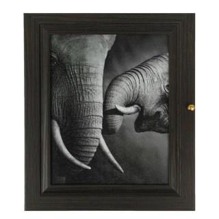 Ключница деревянная «Слоны» 7 крючков купить в Минске +375447651009