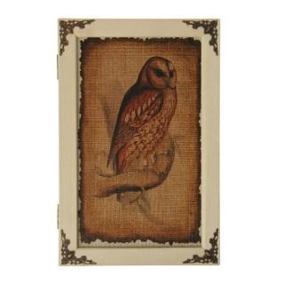 Ключница деревянная «Сова» купить в Минске +375447651009
