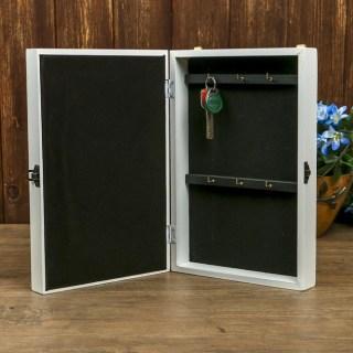 Ключница настенная «Павлин» деревянная купить в Минске +375447651009