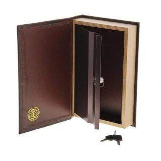 книга сейф золотой узор купить