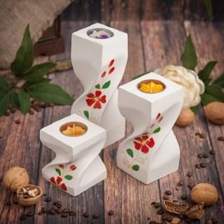 Коллекция подсвечников «Кантри» из 3 шт купить в Минске +375447651009