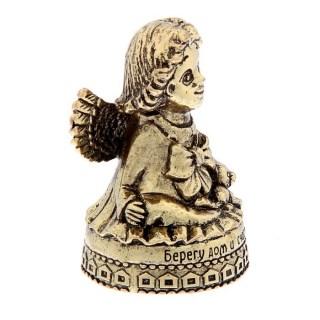 Колокольчик-талисман «Берегу счастье» с ангелом купить в Минске +375447651009