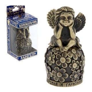 Колокольчик-талисман «Здоровья и гармонии» с ангелом купить в Минске +375447651009