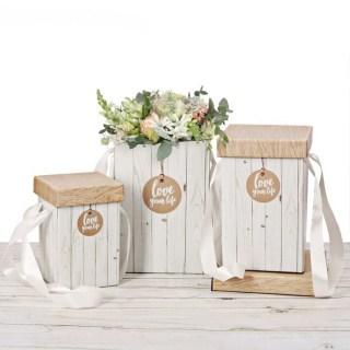 Комплект подарочных коробок «Крафт» 3 шт купить в Минске +375447651009