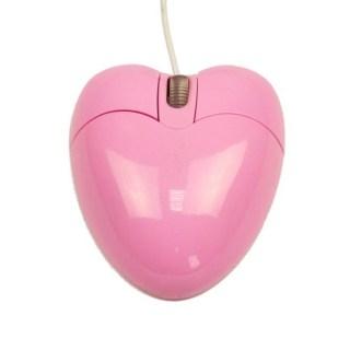 Компьютерная мышь Сердце розовая Минск