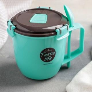 Контейнер для супа с ложкой «Taste» цвет: микс купить в Минске +375447651009