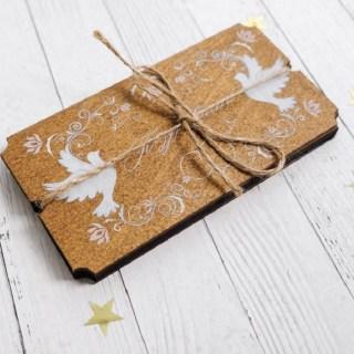 Конверт- шкатулка для денег «Поздравляем» свадебный купить в Минске +375447651009