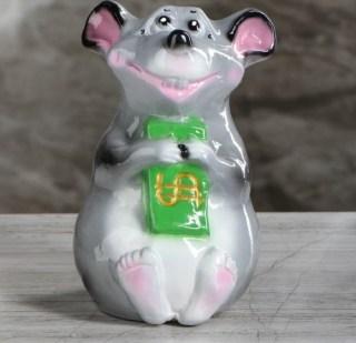 Копилка для монет «Богатая мышь» купить в Минске +375447651009