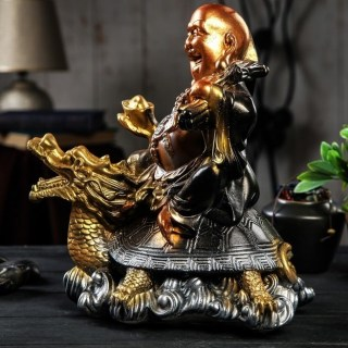 Копилка для монет «Хотей на драконе» купить Минск +375447651009