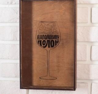 Копилка для винных пробок «Бокал» купить в Минске +375447651009