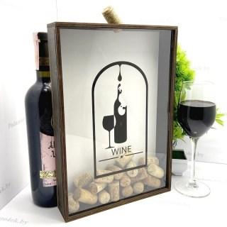 Копилка для винных пробок «Капли мудрости» купить Минск