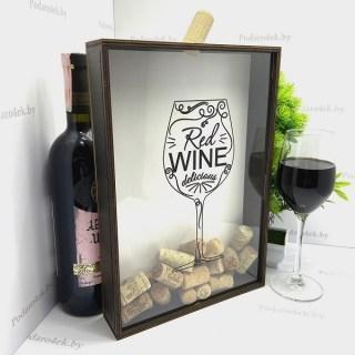 Копилка для винных пробок «Red WINE» купить Минск
