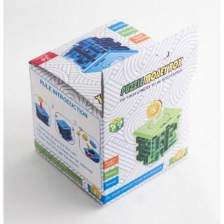 Копилка-головоломка «Соты» синяя большая купить в Минске +375447651009