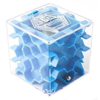 Копилка-головоломка «Соты» синяя малая купить в Минске +375447651009