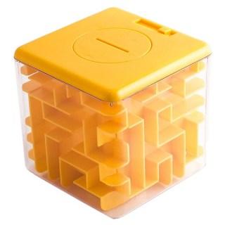 Копилка-головоломка «Соты» желтая большая купить в Минске +375447651009