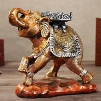Копилка «Слон» бронзовый Минск +375447651009