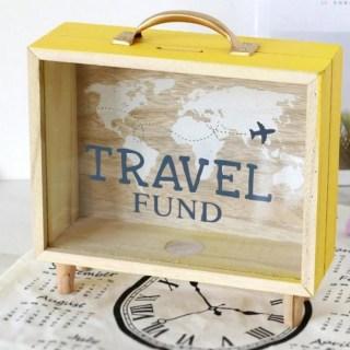 Копилка «Travel» деревянная купить в Минске +375447651009