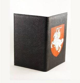 Купить обложка на паспорт «Погоня» на черном