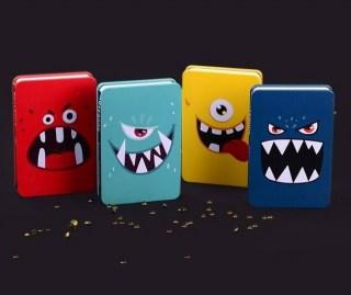 Креативбук с жестяной обложкой Languo 'Монстр' купить в Минске +375447651009