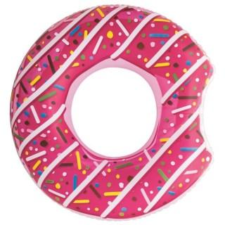 Круг надувной «Пончик» розовый (107 см) Минск +375447651009