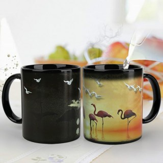 Кружка хамелеон «Фламинго» купить в Минске +375447651009