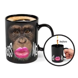 Кружка хамелеон «Monkey» купить в Минске +375447651009