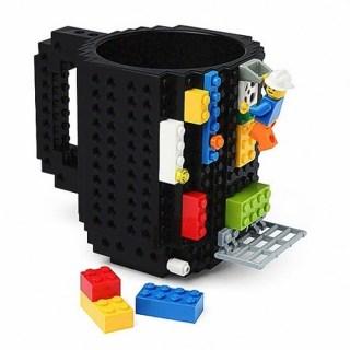 Кружка «LEGO» с конструктором черная Минск +375447651009