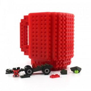 Кружка «LEGO» с конструктором красная Минск +375447651009