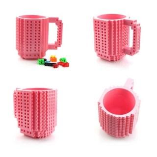 Кружка Лего (LEGO) розовая купить в Минске +375447651009